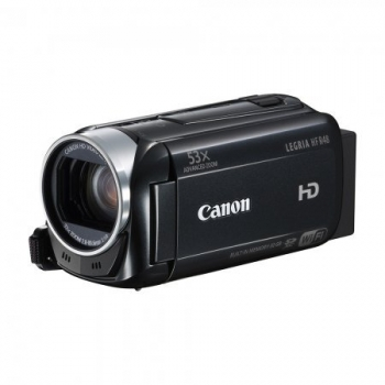 "Camera video Canon Legria HF R48 Black, Full HD 1920x1080, senzor HD CMOS, 32 x optical zoom, Zoom avansat 53x, procesor Digic 4, inregistrare AVCHD de 28 Mbps, inregistrare MP4 de 35 Mbps, 3"" LCD Touch Screen, Optical Intelligent IS, 32GB built-in m"