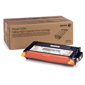 Cartus Toner Xerox 106R01402 Yellow High Capacity 5900 Pagini for Phaser 6280DN, Phaser 6280N