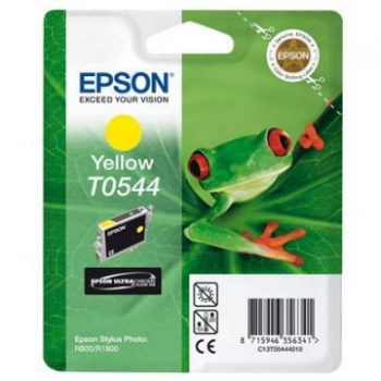 Cartus Cerneala Epson T0544 Yellow 13ml for Epson Stylus Photo R1800, R800 C13T05444010