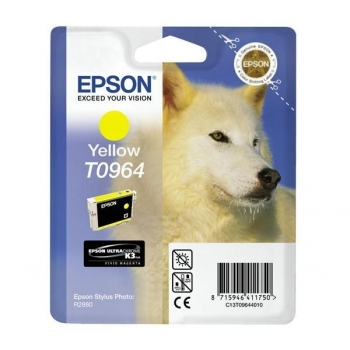 Cartus Cerneala Epson T0964 Yellow 11.4ml for Stylus Photo R2880 C13T09644010