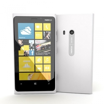 "Telefon Mobil Nokia Lumia 920 White 4G 4.5"" 768 x 1280 IPS Krait Dual Core 1.5GHz memorie interna 32GB Camera Foto 8MPx PureView Windows Phone NOK920WH"