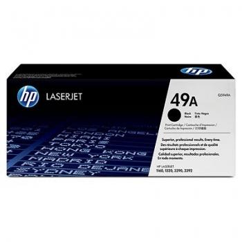 Cartus Toner HP Nr. 49A Black 2.500 Pagini for LaserJet 1160, M4345 MFP, M4345X MFP, M4345XM MFP, M4345XS MFP, 1320, 3390, 3392 Q5949A