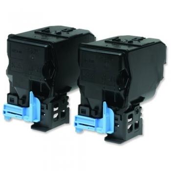Pachet Cartus Toner Epson C13S050594 Black 2 Bucati 2x6000 Pagini for Aculaser CX37DNF, CX37DTNF, AL-C3900DN, AL-C3900DTN, AL-C3900N, AL-C3900TN