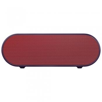Boxa wireless portabila SONY SRS-X2, conectare Bluetooth NFC, putere de redare 15 W, sunet Virtual Surround, ClearAudio+, culoare rosu