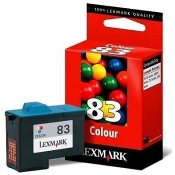 Cartus Cerneala Lexmark Nr.83 Color Higher yield + 15% capacitate 295 pag for Lexmark X5130, X5150, X6150, X6170, X6190, Z55, Z65, Z65N Dell PERSONAL AIO PRINTER 940, PERSONAL AIO PRINTER 960 18LX042E