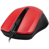 Mouse Gembird MUS-101-R Optic 3 butoane 1200dpi USB Red