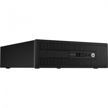 Sistem PC HP ProDesk 600 G1 SFF Intel Core i3-4160 3.6GHz Haswell 4GB DDR3 HDD 500GB Intel HD Graphics Windows 8.1 Pro J7C45EA