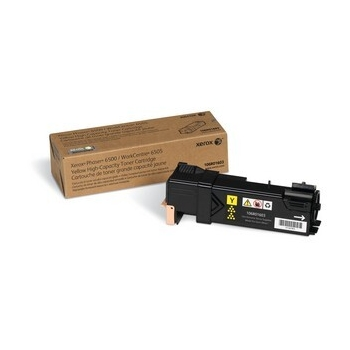 Cartus Toner Xerox 106R01603 Yellow High Capacity 2500 Pagini for Phaser 6500, WorkCentre 6505