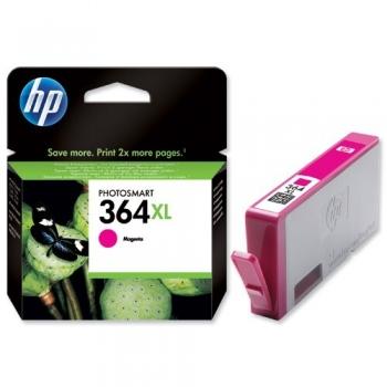 Cartus Cerneala HP Nr. 364XL Magenta Vivera Ink 750 Pagini for PhotoSmart C5380, HP PhotoSmart C6380, HP PhotoSmart D5460, HP PhotoSmart Pro B8550 CB324EE