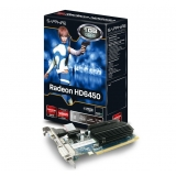 Placa Video Sapphire AMD Radeon HD 6450 1GB GDDR3 64bit PCI-E x16 2.0 HDMI DVI VGA 11190-02-20G