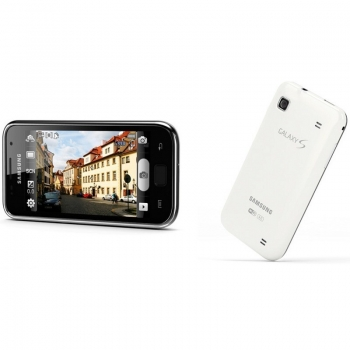 MP3 Player Samsung Galaxy S WiFi 4.0 8GB 800 x 480 LCD Touch white Android 2.2.2