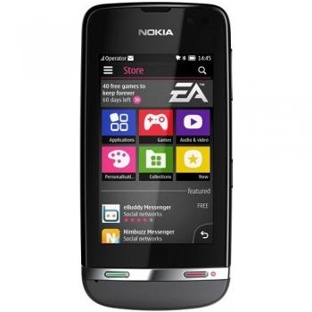 "Telefon Mobil Nokia Asha 311 Dark Grey 3G 3"" 240 x 400 pixeli Gorilla Glass Camera Foto 3.15MPx WiFi NOK311GR"
