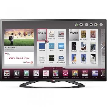 """Televizor LED LG 42"""" 42LN575S Smart TV Full HD Reta RJ45 Wireless DLNA WiDi MHL"""