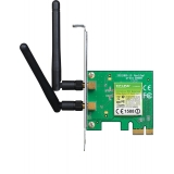 Placa de retea Wireless N TP-LINK TL-WN881ND 300Mbps PCI-E x1