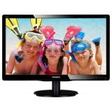 """Monitor LED Philips 22"""" V-line 220V4LSB 1680 x 1050 VGA DVI 220V4LSB/00"""