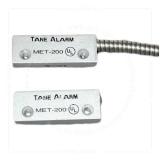 Contact magnetic aparent Tane MET 200 pentru usi metalice, aluminiu, Distanta maxima 3,2 cm, NC