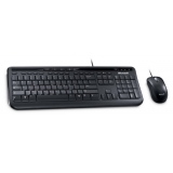 Kit Tastatura+Mouse Microsoft Desktop 600 Tastatura 4 taste rapide Mouse Optic 3 butoane USB Black APB-00013