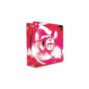 Cooler Carcasa Antec TriCool 80mm Red LED 2600rpm cu controler de turatie