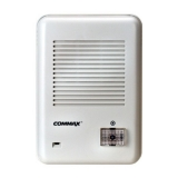 Post exterior Commax DR-201D din plastic cu un buton de apel, pentru o familie, montaj aplicat