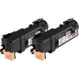 Pachet Cartus Toner Epson C13S050631 Black 2 Bucati 2x3000 Pagini for Aculaser C2900DN, C2900N, CX29DNF, CX29NF