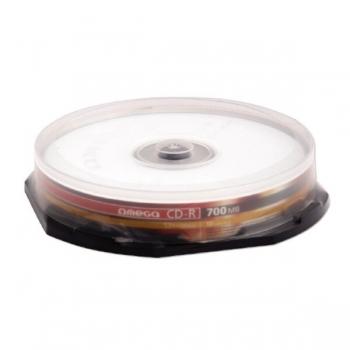 CD-R Omega 700MB 10 bucati QCDR80OM52X10