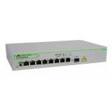 Switch PoE Allied Telesis AT-FS708/POE-50 8xRJ-45 10/100Mbps PoE + 1xSFP