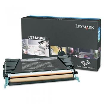 Cartus Toner Lexmark C734A2KG Black 8000 pagini for C734, X734, C736, X736, X738