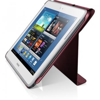 "Husa tableta Samsung EFC-1G2NRECSTD Garnet Red compatibila cu N8000 Galaxy Note 10.1"" cu functie de stand"