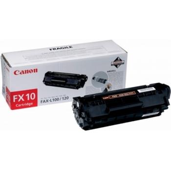 Cartus Toner Canon FX-10 Black 2000 Pagini for L 100, L 120, L 140, L 160, MF 4010, MF 4120, MF 4140, MF 4150, MF 4270, MF 4320D, MF 4330D, MF 4340D, MF 4350D, MF 4370DN, MF 4380DN, MF 4660PL, MF 4690PL, PCD 440, PCD 450 CH0263B002AA