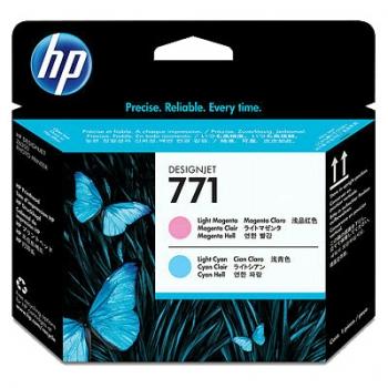Cap Printare HP Nr. 771 Light Magenta& Light Cyan for DesignJet Z6200 CE019A