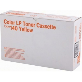 Cartus Toner Ricoh Type 140 Yellow 6500 pagini for Ricoh CL 1000, CL 800, SP C210SF, SPC 210SF 402100