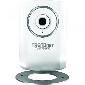 "Camera de supraveghere IP TRENDnet TV-IP751WC 1/5"" CMOS 640x480 4mm M-JPEG Wireless"