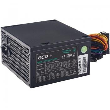 Sursa Eurocase ECO+80 400W 1x PCI-E 2x SATA 3x Molex 1x Floppy PFC Activ ATX-400WA-12-85(87)