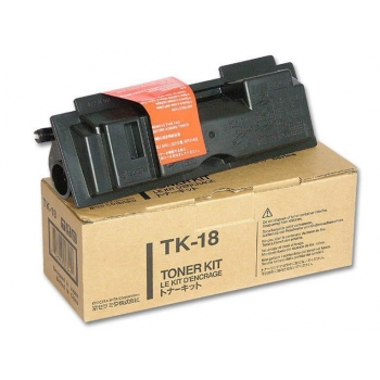 Cartus Toner Kyocera TK-18 Black 7200 Pagini for Kyocera Mita FS-1018, FS-1020D, FS-1118MFP