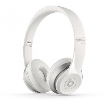 Casti Wireless Beats by Dr. Dre Solo 2 White cu microfon CPC00307