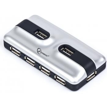 USB 2.0 7-port hub with external power adapter