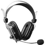 Casti A4Tech HS-50 cu microfon si control de volum negru