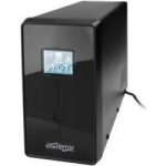 "UPS GEMBIRD 1500VA w. AVR, diplay LCD, interfata USB, black, ""EG-UPS-034"""