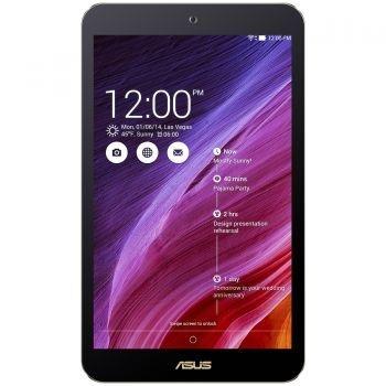 Asus MeMO Pad 8 ME181CX-1A048A | 8 inch | 1280 x 800 pixeli IPS | Intel Quad-Core Baytrail T Z3745 1.8 GHz | Flash 16 GB | 1 GB | A ndroid OS, v4.4 (KitKat) | 802.11 b/g/n | Rear 2 MP | Front 0.3 MP | Micro SD | Negru | 320 g