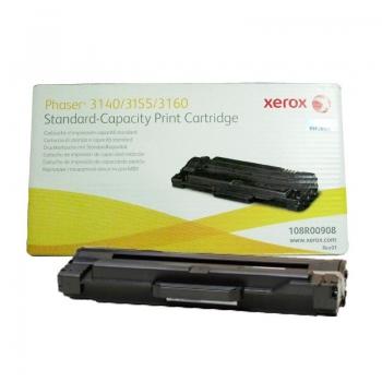 Cartus Toner Xerox 108R00908 Black Standard Capacity 1500 Pagini for Phaser 3140, 3155, 3160, 3160N