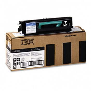 Cartus Toner IBM Return 75P5711 Black 6000 Pagini for Infoprint 1412, Infoprint 1512
