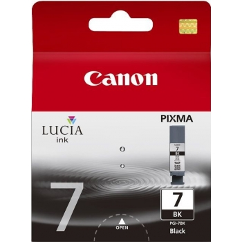 Cartus Cerneala Canon PGI-7BK Black for IX7000, Pixma MX7600 BS2444B001AA