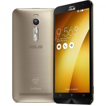 "Telefon Mobil Asus Zenfone 2 Golden 4G Dual SIM 5.5"" 1080 x 1920 Intel Atom Quad Core 1.8GHz memorie interna 32GB Camera Foto 13MPx Android v5.0 QM_109093"