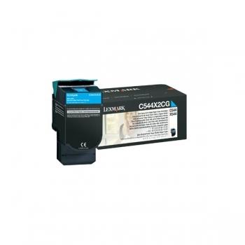 Cartus Toner Lexmark C544X2CG Cyan Extra High Yield 4000 pagini for C544, X544, X548