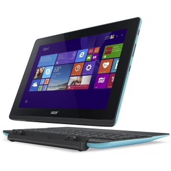"Tableta Acer Aspire Switch 10E SW3-013 Intel Atom Quad Core Z3735F up to 1.83GHz IPS 10.1"" 1280x800 2GB RAM memorie interna 32GB HDD 500GB Windows 8.1 Blue NT.G0NEX.002"