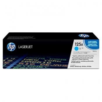 Cartus Toner HP Nr. 125A Cyan 1400 Pagini for Color LaserJet CM1312, CM1312NFI, CP1215, CP1515N, CP1518 CB541A