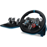 Volan Logitech Driving Force G29 cu pedale compatibil PS3, PS4, PC 941-000112
