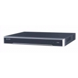 Hikvision NVR DS-7632NI-I2/16P, 32Ch, 12 MP/8 MP/6 MP/5 MP/4 MP/3 MP/1080p/UXGA/720p/VGA/4CIF/DCIF/2CIF /CIF/QCIF HDMI, 1-ch, RCA (Linear, 1 KΩ), H.265/H.264/MPEG4, 2 SATA interfaces for 2HDDs, Up to 6TB capacity for each HDD,1 RJ-45 10/100/1000 Mbps s