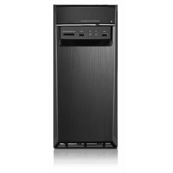Desktop Lenovo IdeaCentre H50-50, Intel Core i7-4790 (3.60GHz, 1600MHz, 8MB), video dedicat GeForce GTX750ti 2GB, RAM 16GB DDR3 1600MHz (2x8GB), HDD 2TB 7200rpm, DVD-Rambo, Porturi: 4xUSB 2.0/ 2xUSB 3.0/ 1x VGA/ 1xRJ45/ 1xaudio, Card reader: 7-1, WLAN 802
