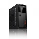 Carcasa Middle Tower RPC AF500BH Sursa 500W 2x USB 2.0 2x Jack 3.5mm black CPCS-AF500BH-CF01A